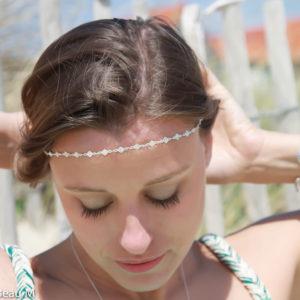 Headband Lahola, argenté