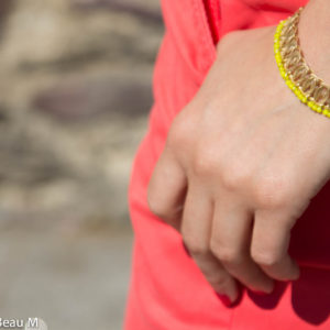 Bracelet Tika, doré, jaune GBM