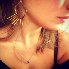 Boucles d'oreilles Sola