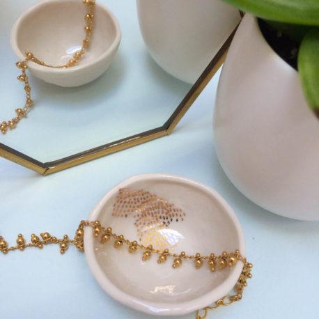 Bracelet Bloum, doré